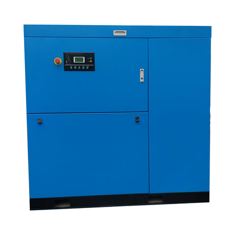Image of 100HP  - 450 CFM @ 125 PSI Rotary Screw Compressor - 460V/ 60Hz / 3-Phase Direct Driven  - Heavy Duty Stationary