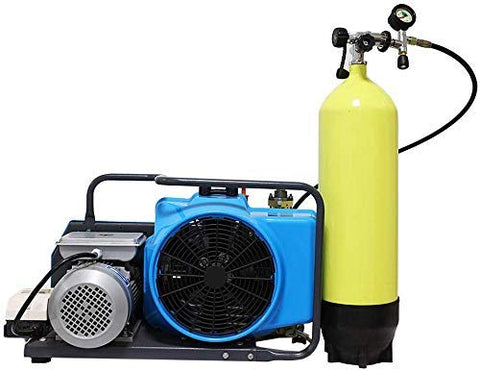 flea-market-supply,HPDMC 4500psi High Pressure Electric Air Compressor for PCP Air Rifle Paintball SCUBA SCBA Tanks Filling (Blue),Mr Air Compressor,