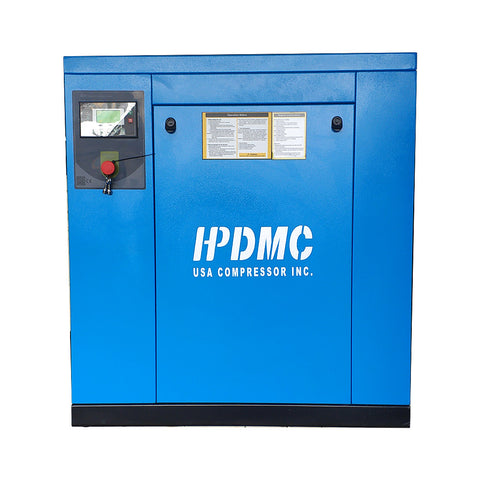 20HP Rotary Screw Air Compressor 81CFM@125PSI 460V/60Hz/3PH-PACK15 HPDMC