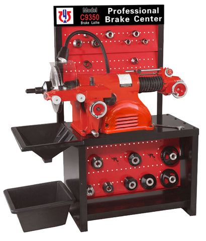 Image of 9350 Combination Disc/Drum Brake Lathe With Truck Adapter Package-9350C