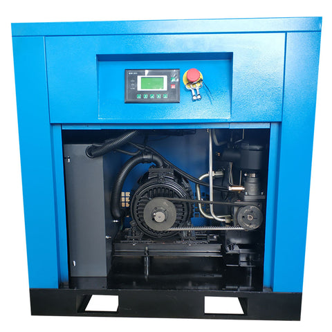 7.5HP VSD 230V Rotary Screw Air Compressor 29cfm125psi 230V/60Hz/1PH DAC5V HPDMC