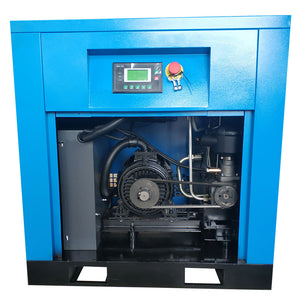 7.5HP  Rotary Screw Air Compressor 29cfm@125psi 230V/60Hz/1PH-DAC5V HPDMC