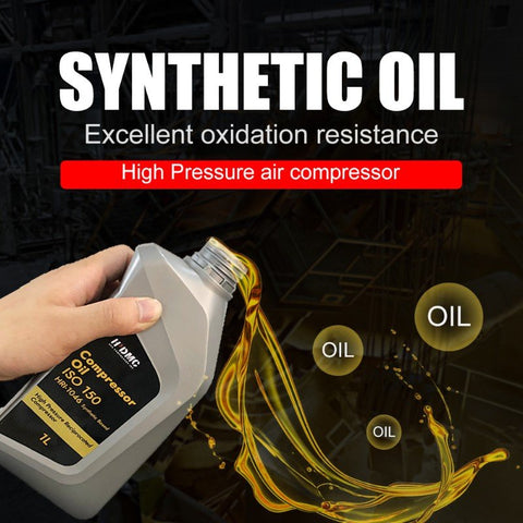 Image of 1 Quart Synthetic Air Compressor Lubricating Oil-ISO-150 HPDMC