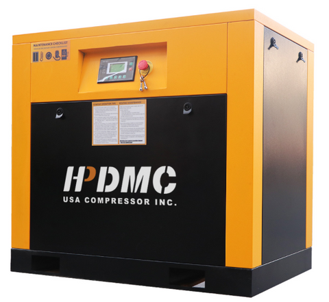 20HP VSD 230V Rotary Screw Air Compressor 81cfm@125psi 230V/60Hz/3PH Variable Speed Drive-DAC15V(230V)