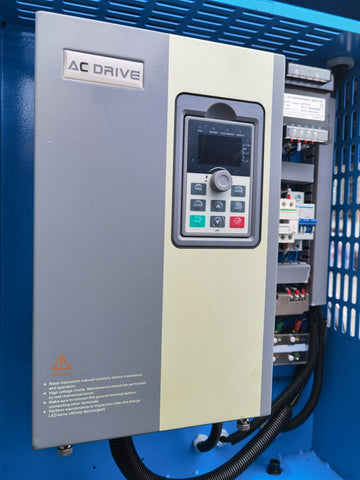 Image of 10HP/PACK7-T/TAE Rotary Screw Air Compressor with Tank/Dryer 39cfm@125psi NPT1""