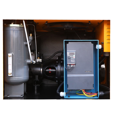 29cfm 7.5HP VSD 230V Rotary Screw Air Compressor @125psi 230V/60Hz/1PH Variable Speed Drive-DAC5V
