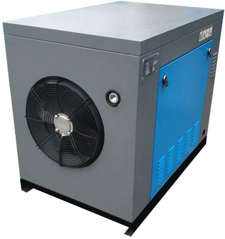 Image of HPDMC Rotary Screw Air Compressor 10HP / 7.5KW 39-35 cfm 125-150 psi 230V / 60Hz 3-Phase Spin-on Air Oil Separator for Auto Repair, Aviation, Metallurgical