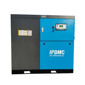 30HP VSD 460V Rotary Screw Air Compressor 125CFM@125PSI 460V/60Hz/3PH-SC22-VSD HPDMC