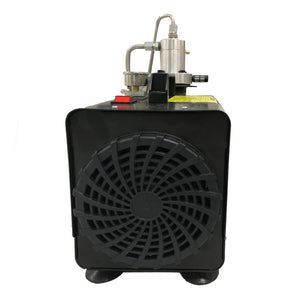 4500Psi 1.5KW Protable Air Compressor 110V/60Hz Manual Stop for Paintball Scuba Tank Filling Pump-SCU30 Manual