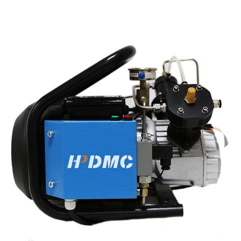 Image of 3HP 2CFM  4500psi High Pressure Air Compressor 110V / 60Hz for PCP Paintball Tank Filling Automatic Stop Air Pump Water Cooled-SCU60(free shipping)