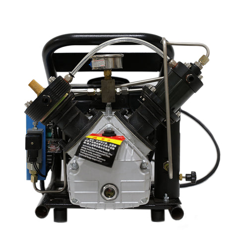 3HP 2CFM  4500psi High Pressure Air Compressor 110V / 60Hz for PCP Paintball Tank Filling Automatic Stop Air Pump Water Cooled-SCU60(free shipping)