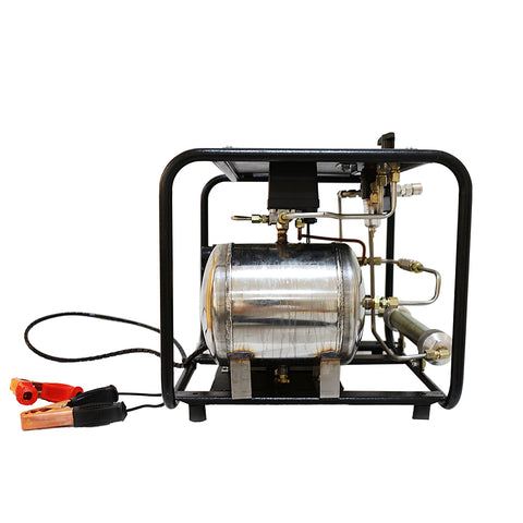 Image of 3cfm 125psi Hookah Diving Compressor 12V/DC -SCU80 HPDMC