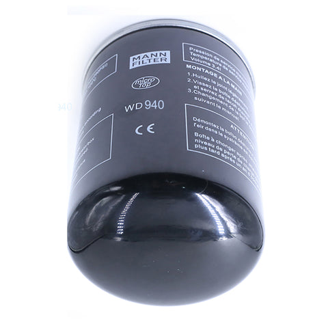 Oil Filter for 4KW-7.5KW Screw Air Compressor Accessories -W940001 free shipping