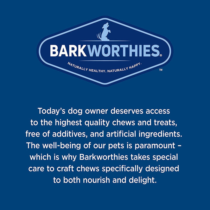 Barkworthies Duck Jerky All Natural Dog Chews, 4 Ounce Package