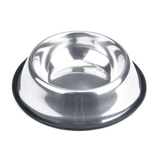 Weebo Pets Stainless Steel No-Tip Food Bowls - Choose Your Size, 4-ounce to 72-ounce (16oz. Rover)