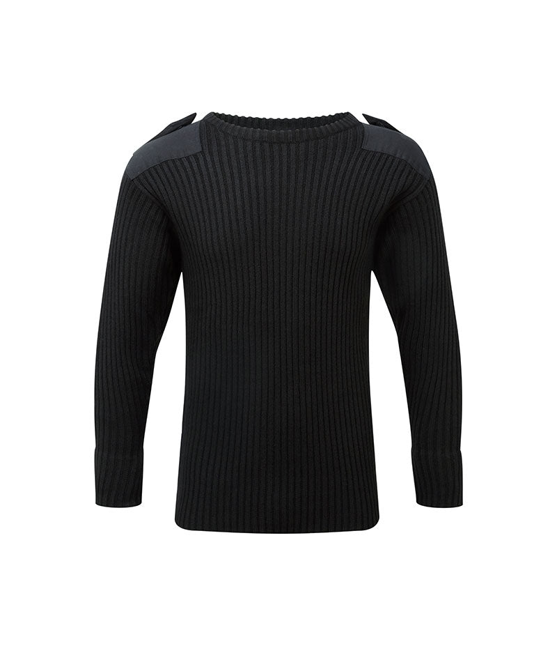Crew Neck Combat Jumper