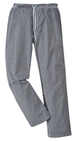 Bromley Checked Chefs Trouser