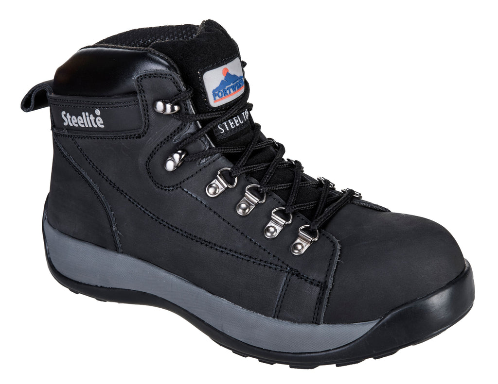 Midcut Nubuck Safety Boot