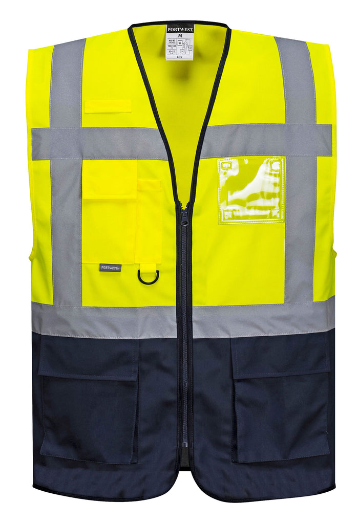 Executive Contrast Hi Vis Vest
