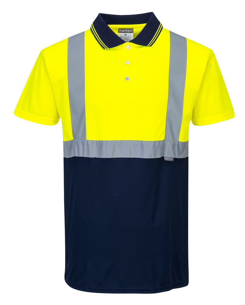 Hi Vis Two Tone Polo