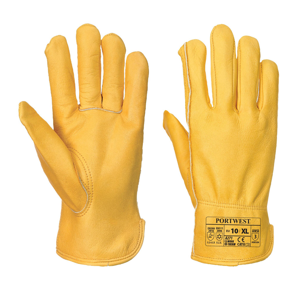 Lined Driver Gloves