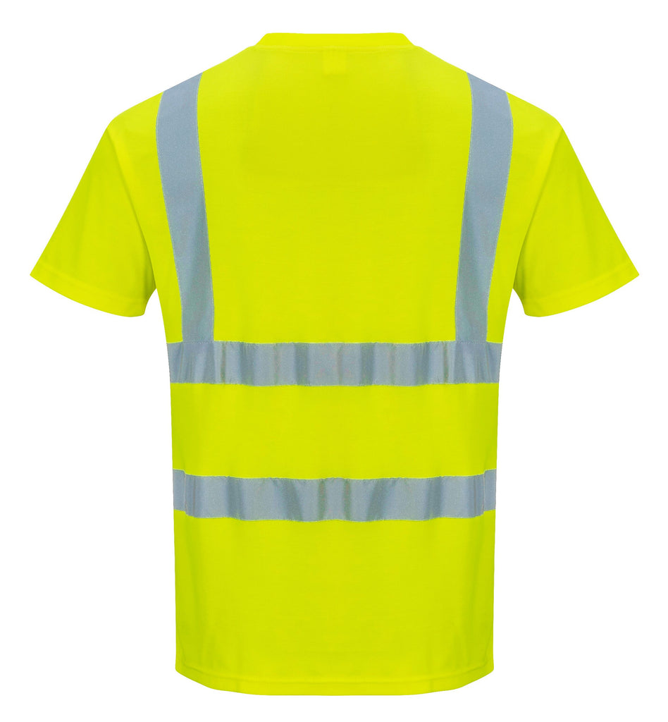 Yellow Hi Vis T Shirt