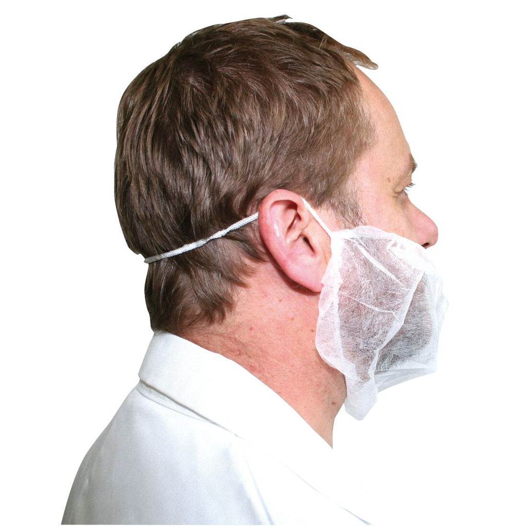 Disposable Beardnets (Pack of 100)