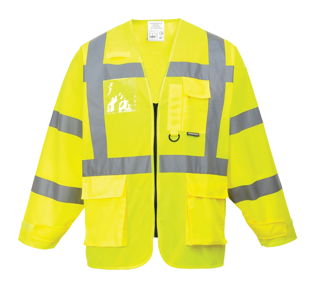 Hi Vis Longsleeve Executive Vest