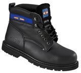 Pro Man Black Goodyear Welted Safety Boot