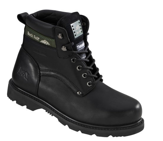 Rockfall Thinsulate Lined Black Safety Boot