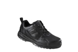 Vixen Ladies Plain Black Safety Trainer