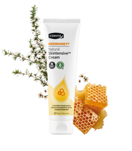 COMVITA MEDIHONEY NATURAL SKINTENSIVE CREAM 95GR, INTENSIVELY HYDRATING CREAM