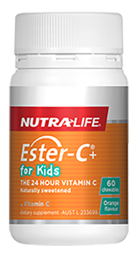 NutraLife Ester-C+for Kids  60T