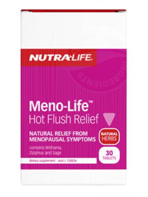 NutraLife Meno-Life Hot Flush Relief 30T