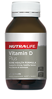 NutraLife Vitamin D  Plus  Boron 180C