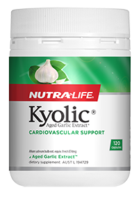 NutraLife Kyolic® Aged Garlic Extract™ , Cardiovascular Support, Ordourless, 120 CAPS