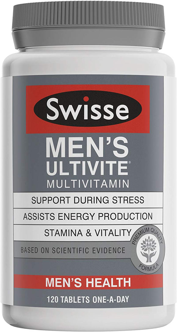 Swisse Mens Ultivite Multivitamin for men  120 Tablets