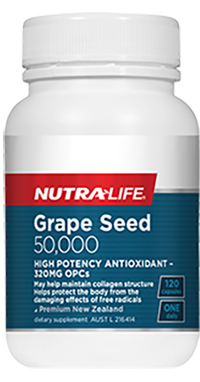 NutraLife Grape seed 50,000 120c