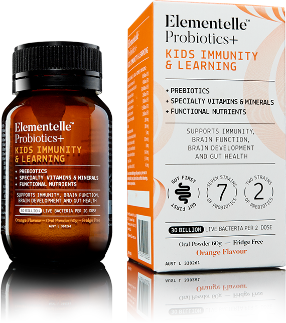 Elementelle Probiotics Kids immunity & Learning