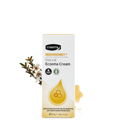 COMVITA MEDIHONEY NATURAL ECZEMA CREAM 50GR