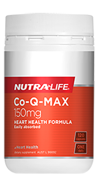 NutraLife Co-Q- MAX 150mg,  60 C,120 CAPS