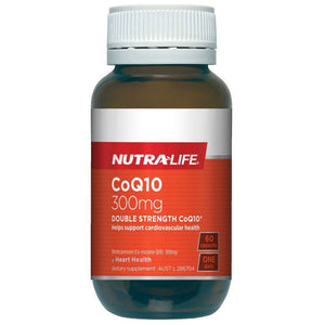 Nutralife COQ10 300MG DOUBLE STRENTH, 60C