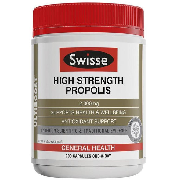 Swisse  Ultiboost high Strength Propolis 2000mg 300 Capsules