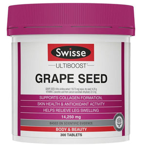 Swisse Ultiboost Grape Seed 14250mg 300Tablets