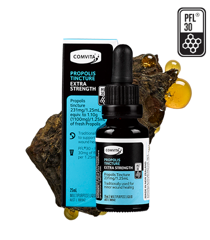 Comvita Propolis Tincture  Extra Strength PFL®30 High Quality Propolis 25ML