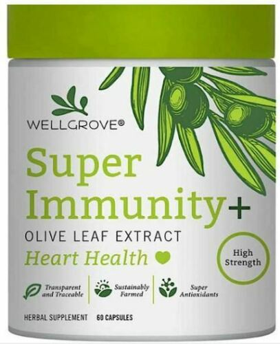 WELL GROVE OLIVE LEAF EXTRACT,IMMUNE SUPPORT, 60C
