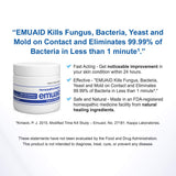 Emuaid First Aid Ointment NATURAL TREATMENT for over 100+Difficult Skin Condiions  0.5oz(14ml)