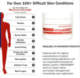 EMUAIDMAX Emuaid MAX FIRST AID OINTMENTS NATURAL TREATMENT for resistant skin conditions: 2 OZ(59ml)