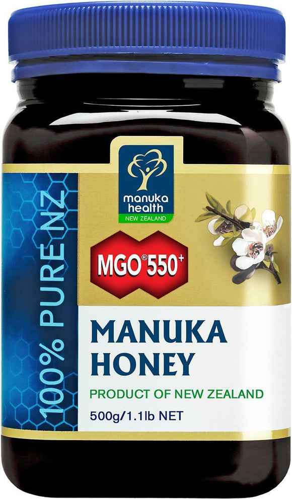 MANUKA HEALTH MGO??550+ Manuka Honey 500gr