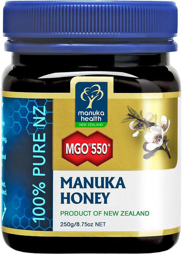 MANUKA HEALTH MGO??550+ Manuka Honey 250GR
